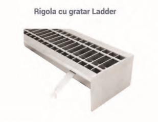 Rigola cu gratar Ladder
